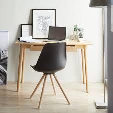 Preiswerte Schreibtische Schreibtisch Eichenfurnier Spanplatte Top Eiche Beine