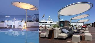 Sun Umbrella Patio Patio Things Umbrosa Eclipse Both A Sunshade And A Work Of