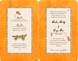 Wedding Cards Invitation South Indian Kalamkari Inspired Wedding Card Inside Indian