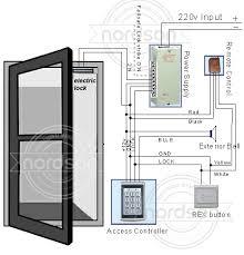 access control wiring diagram u0026 access control system wiring