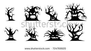 halloween trees stock images royalty free images u0026 vectors