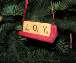 scrabble tile ornaments 7 steps with pictures