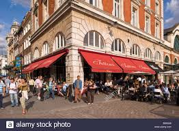 Covent Garden Family Restaurants Restaurants At Covent Garden Wc2 London United Kingdom Stock Photo