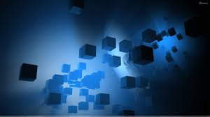 sapphire blue wallpaper blue little cubes abstract wallpaper