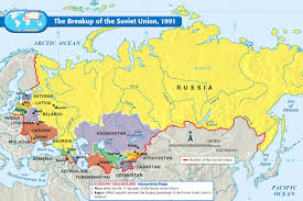Why Do Western Maps Shrink by The Breakup Of The Soviet Union 1991 Mapas Antiguos Anciet