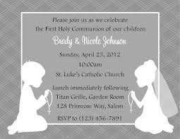 Holy Communion Invitation Cards First Communion Invitation Twins Party Planning Ideas