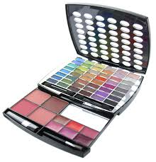 br beauty revolution glamour makeup kit 43 eyeshadow 9 blush