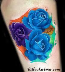 25 best full purple rose tattoo images on pinterest amp best