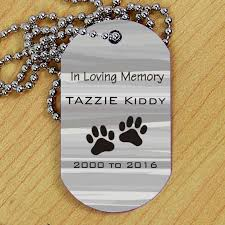 in loving memory dog tags personalized pet memorial dog tag 1 shirley s tags
