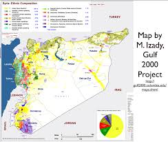Syria Map Of Control by Michael Izady U0027s Amazingly Detailed Map Of Ethnicity In Syria And