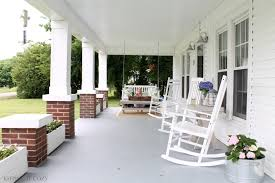 front porch fair ideas for front porch decoration using round