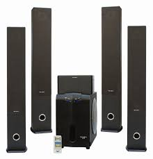 best speakers for home theater 5 1 5 1 tower home theatre speaker system buy home theatre speaker