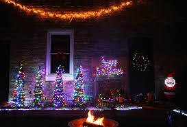 Lighting Ideas For Backyard Light Ideas For A Backyard Winter Wonderland