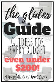 Jcpenney Glider Rocker by Best 25 Best Glider Ideas On Pinterest Best Chairs Glider Best