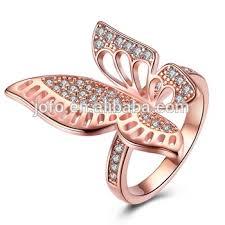 women big rings images New design ladies women finger ring personalized 18k rose gold jpg
