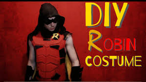 Red Robin Halloween Costume Robin Costume
