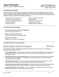 Example Of Marketing Resume by Marketing Professional Resume Marketing Manager Resume S Marketing