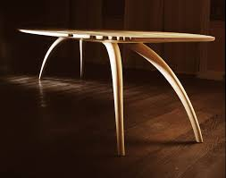 Famous Furniture Designers 21st Century Bespoke Ash Dining Table Makers U0027 Eye
