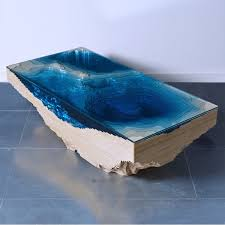 topography coffee table duffy london topography resin coffee table materialmondays resin