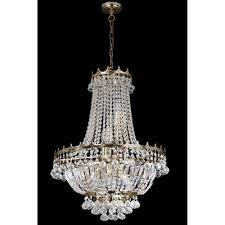 Lights Chandelier Searchlight 9112 59go Versailles 9 Light Gold Chandelier