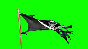 History Of The Pirate Flag Green Screen Pirate Flag Skull And Crossbones Hd Footage