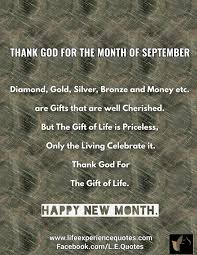 Gift Of The Month Thank God For The Month Of September Diamond Gold Silver