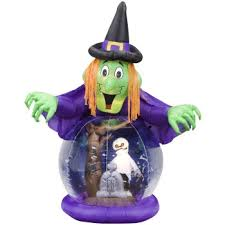 inflatable globe halloween globes blowups with bats and more