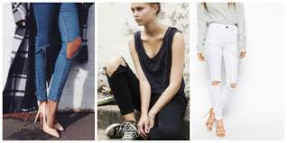 Skinny Jeans With Holes Knee Cut Jeans U0026 Why We U0027re All Obsessed With Them Fashion Tag Blog
