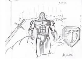 keltrius and the armor of god old drawings of the new christian
