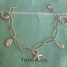 tiffany charm bracelet with charms images Tiffany co jewelry auth tiffany elsa peretti 5 charms jpg