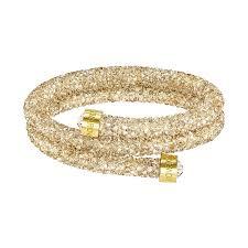 swarovski gold plated bracelet images Swarovski crystaldust bracelet gold crystaldust armband jewelry jpg