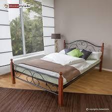 Schlafzimmer Bett Mit Komforth E Metallbetten Amazon De