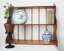 vintage wall shelf etsy