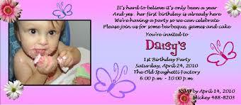 1st birthday invitation card sles iidaemilia