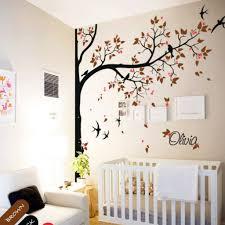 Tree Wall Decal For Nursery Custom Corner Tree Wall Decal Nursery Mural Personalizedstickers