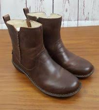 womens leather ankle boots size 9 ugg australia leather zip s us size 9 ebay