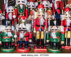 christmas nutcrackers nutcracker ballet soldier christmas tree decoration stock