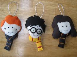 felt harry potter ornament search sewing projects