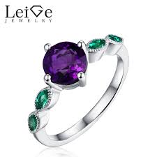 online get cheap amethyst engagement ring aliexpress com
