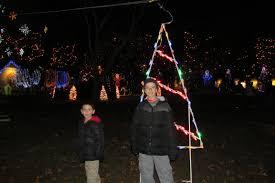 pretty christmas lights at la salette shrine masshole mommy