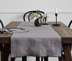 table runners for dining room table contrast edge table runner u2013 parachute