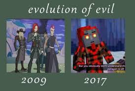 Anonymous Meme - image mcsm2 evolution of evil meme by rr the anonymous dbk70pi jpg