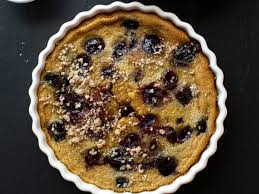 cherry pumpkin clafoutis recipe sarah bolla food u0026 wine