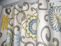 Narrow Shower Curtains For Stalls Yellow Grey 84
