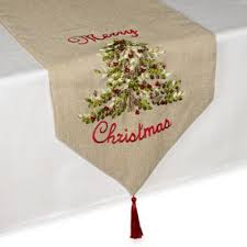 bed bath and beyond christmas table linens buy christmas table linens from bed bath beyond