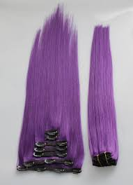purple hair extensions royal purple 21 clip in hair extensions strands
