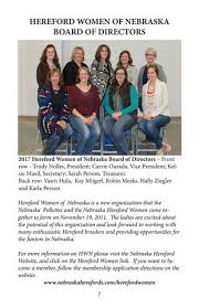 livestockdirect nebraska hereford association 2017 membership