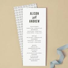printable wedding programs 15 wedding programs what to include mywedding