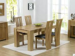 6 Seater Oak Dining Table And Chairs Solid Oak Dining Room Set For Sale Solid Wood Dining Tables And