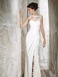 simple wedding dress clara simple wedding dress with classical lace sang maestro